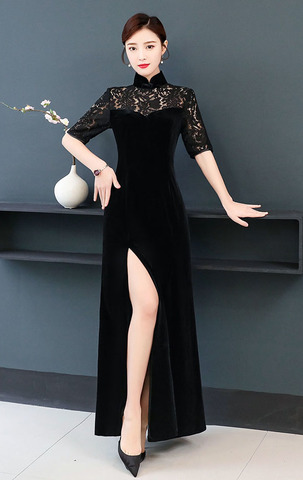 Black High Slit Cheongsam.jpg