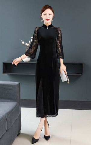 Black Velvet Cheongsam Evening Dress.jpg