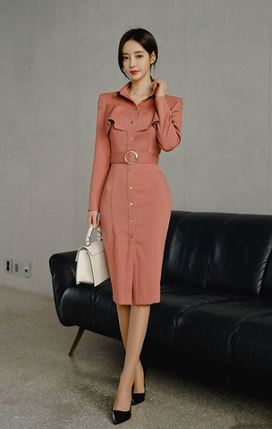 Slim Shirt Dress (Free Belt).jpg