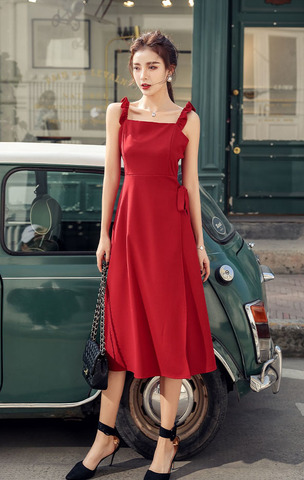 Red Split Sling Dress.jpg