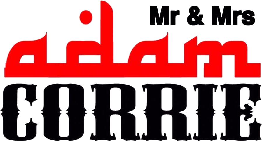 MR & MRS ADAM CORRIE