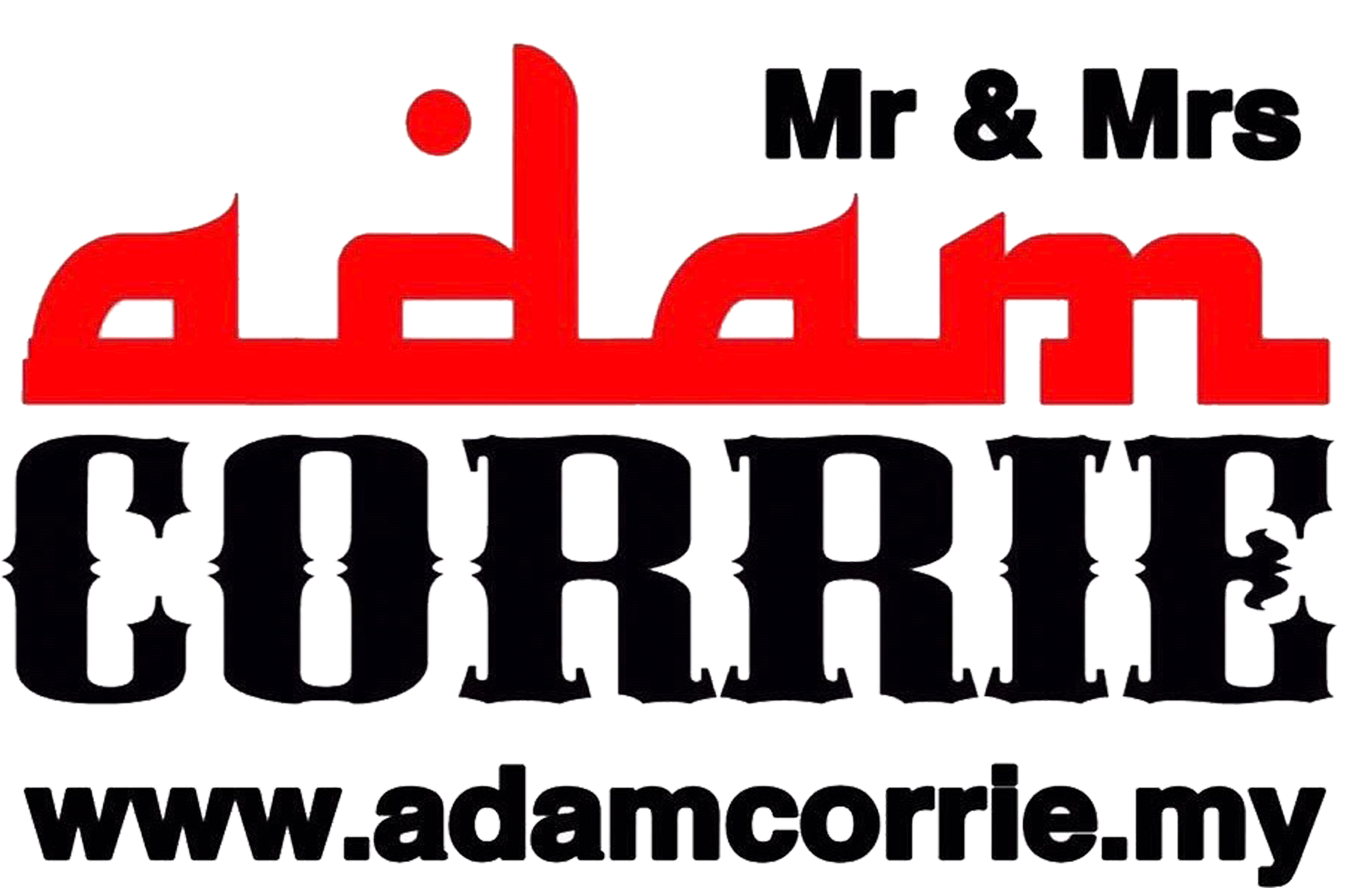 MR & MRS ADAM CORRIE