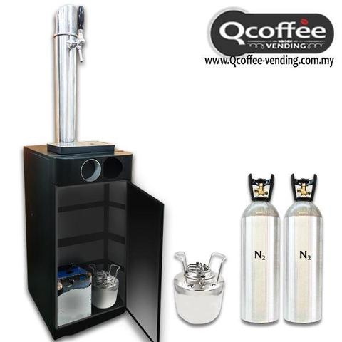 Nitro Cold Brew Qcoffee Vending Instant Coffee Machine