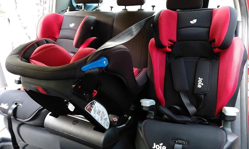 Kempen Bantuan Car Seat Safe 'n Sound