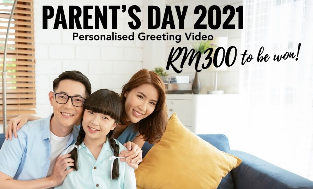 Win RM300 in Vschool Trend's Latest Parents Day 2021 Competition