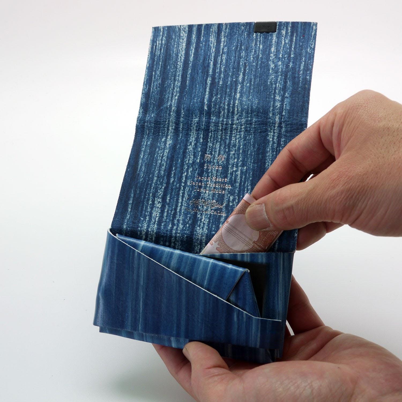 零錢包-職人手繪款-靛青