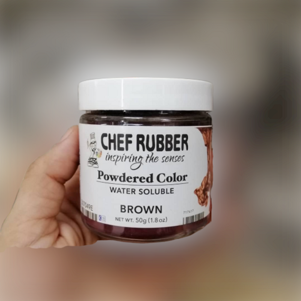 chef rubber powdered color water soluble brown.png