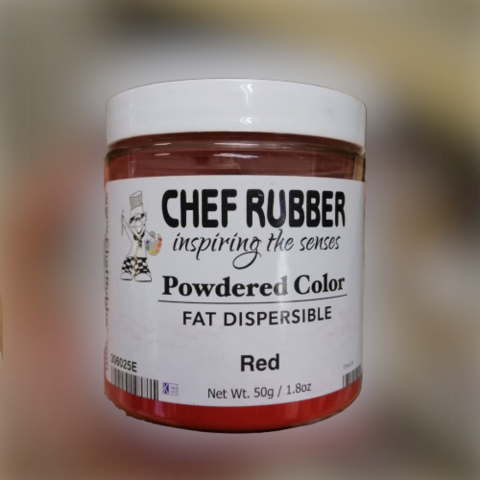 chef rubber powdered color fat dispersible red.png