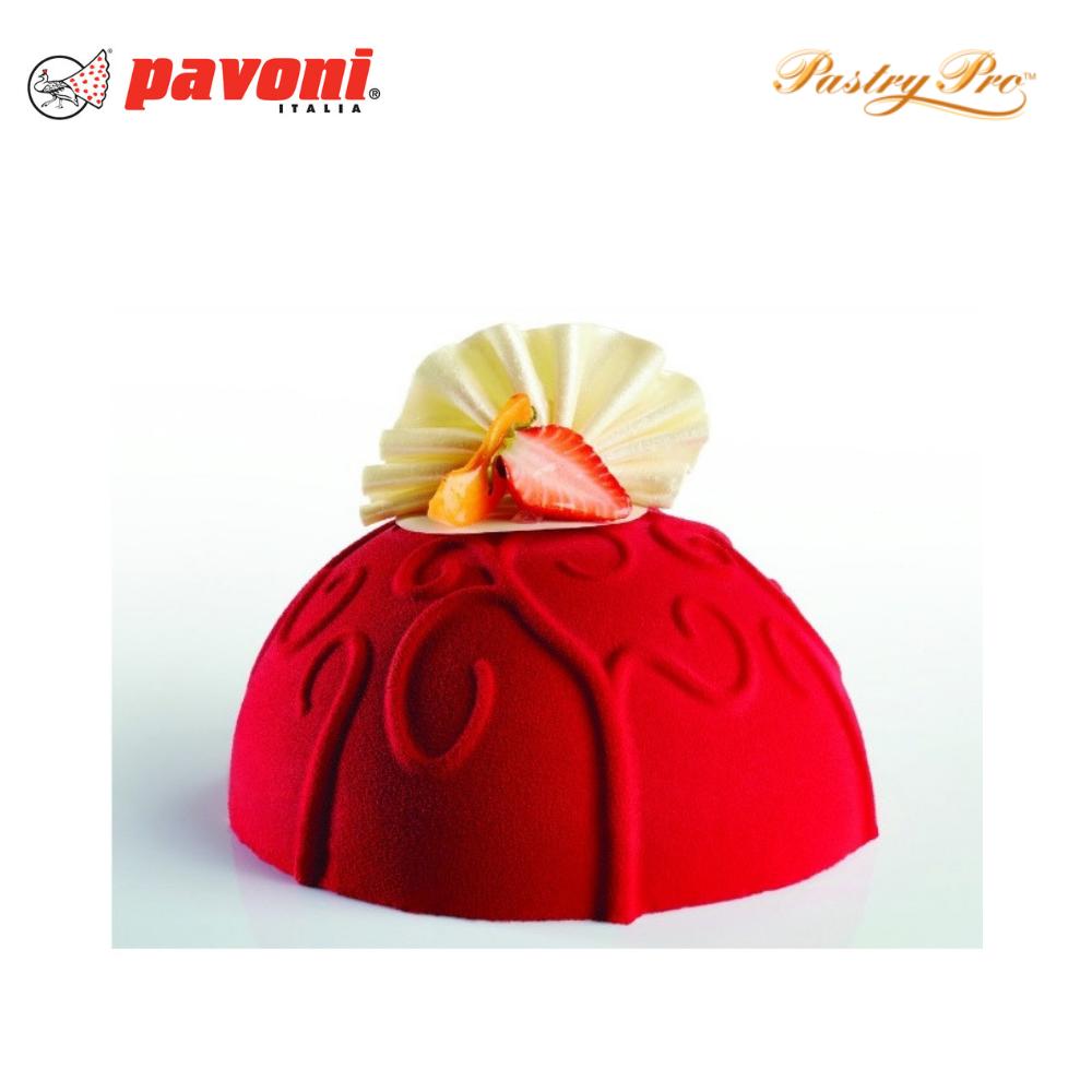 cake mould pavoni dome petal ke009 (1).png