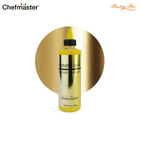 chefmaster airbrush colour metallic gold.png