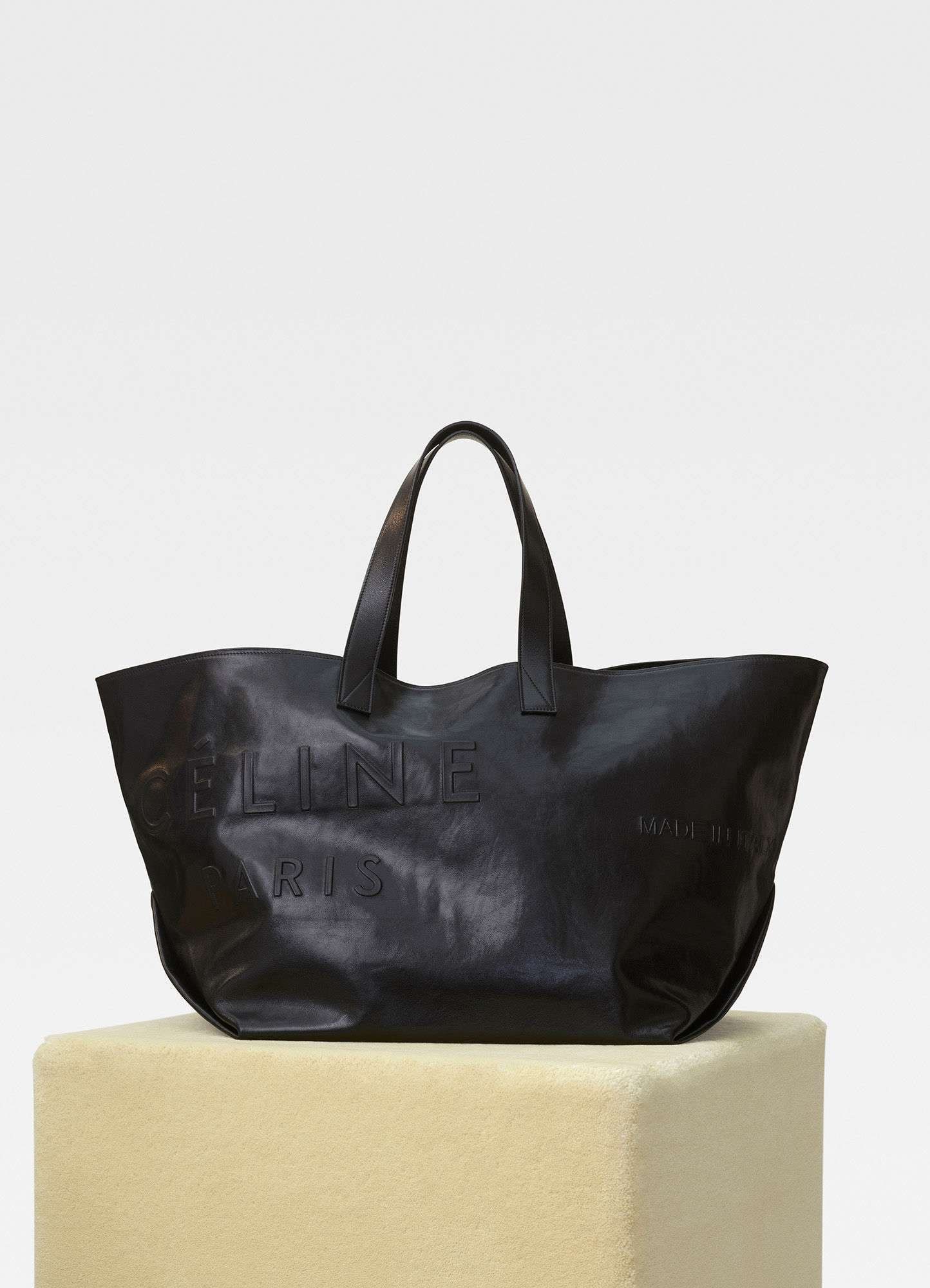 shop for genuine shop for original hot-selling {Trip Of The Month} Celine Leather Tote