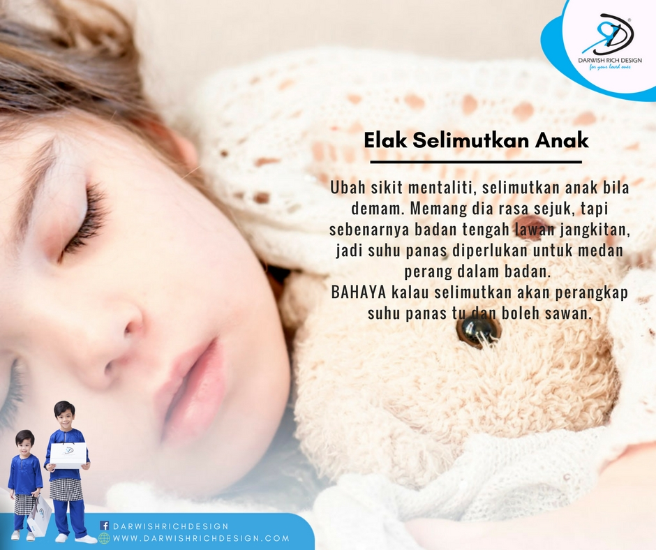 tips anak demam