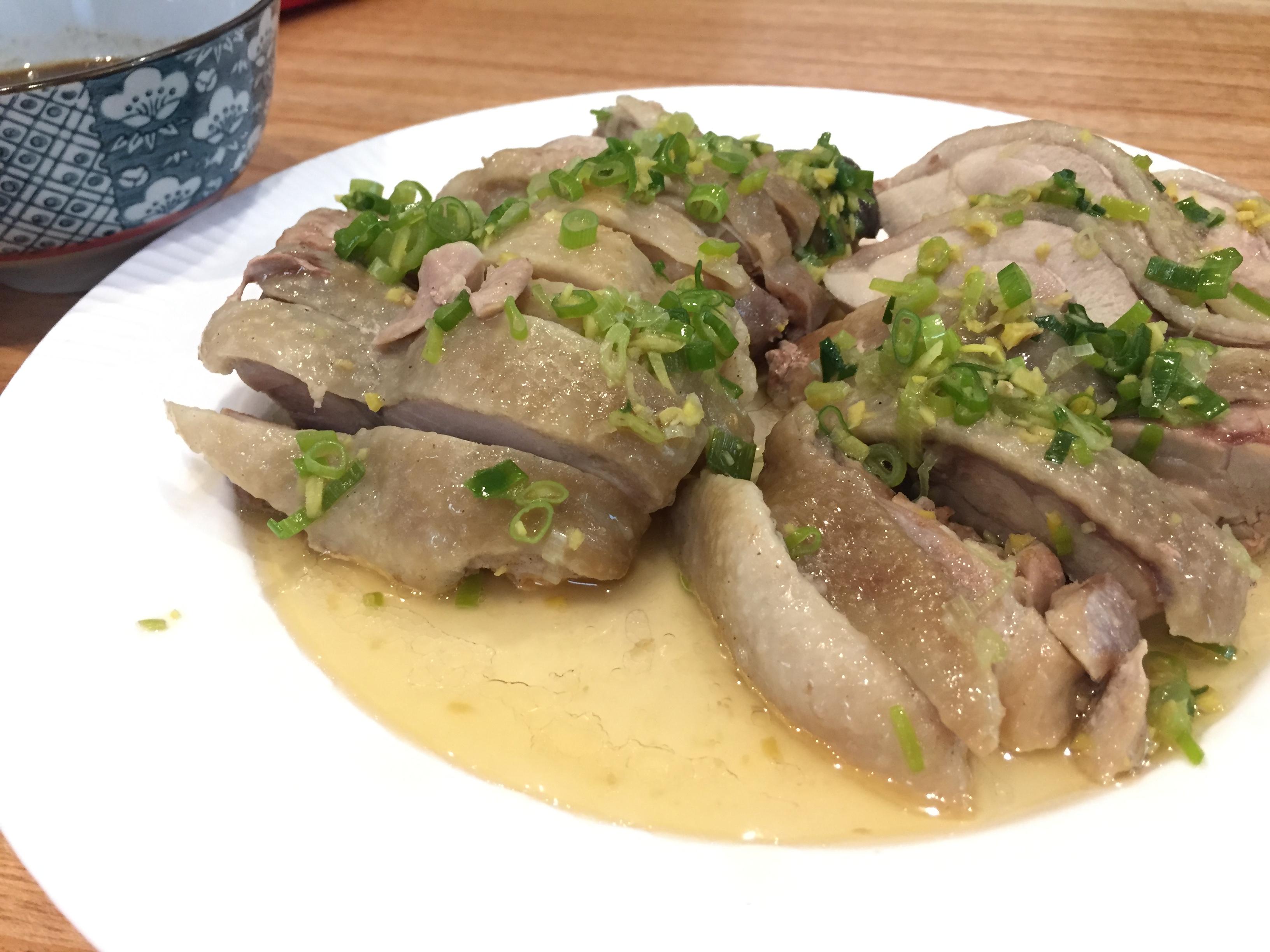 夏日開胃簡單料理──用油蔥雞幫家人多添一碗飯
