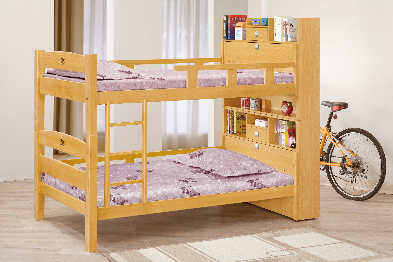 3.5尺檜木色多功能雙層床.jpg