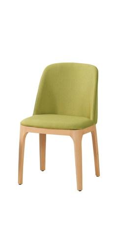 516-6 托貝餐椅(綠色布)(五金腳).jpg