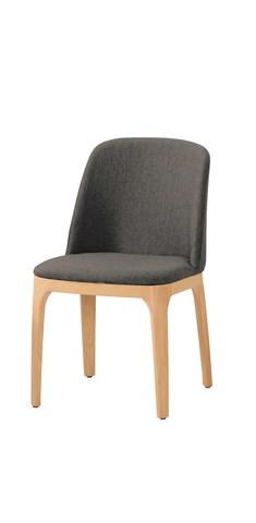 516-4 席拉餐椅(淺灰色布)(五金腳).jpg