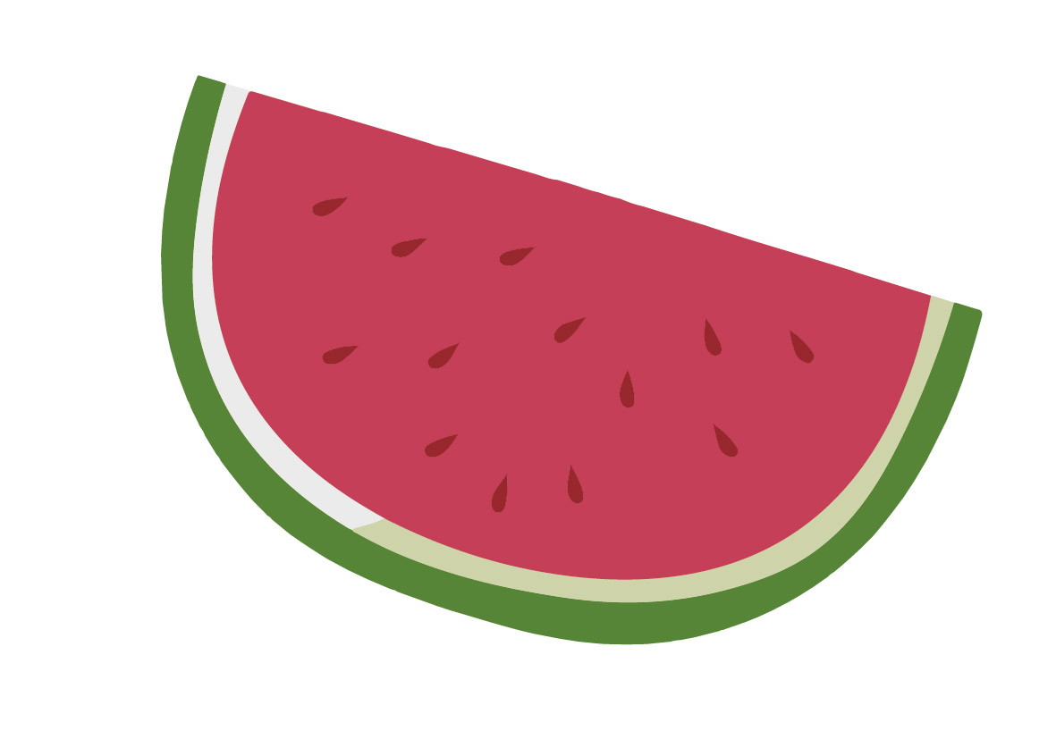 Eat white-5 foods for whitening and anti-oxidation-watermelon