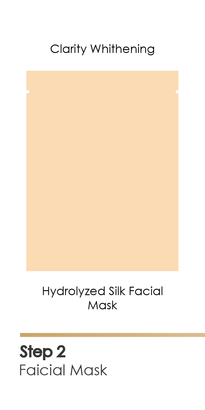 hydrolyzed silk protein facial mask