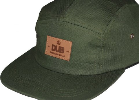 Anfield 5 Panel Hat Olive Front.jpg