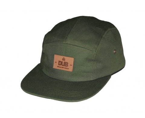 Anfield 5 Panel Hat Olive.jpg