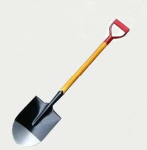 D-Type-Head-Wooden-Handle-Round-Pointed-Steel-Shovel