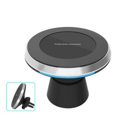 SPEDCRD CAR WIRELESS CHARGER MAGNETIC STAND FAST CHARGING DOCK (BLACK)