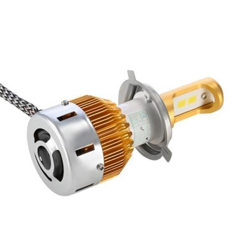 RECTANGLE T23909 H4 PAIR OF CAR LED HEADLIGHT