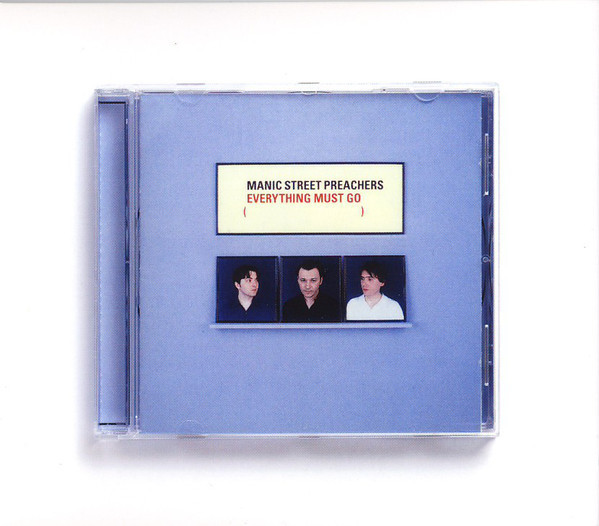 MANIC STREET PREACHERS Everything Must Go (Reissue, Remastered, Tri-fold cardboard sleeve) CD.jpg