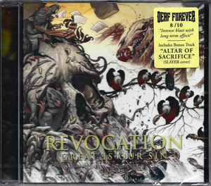 REVOCATION Great Is Our Sin CD.jpg