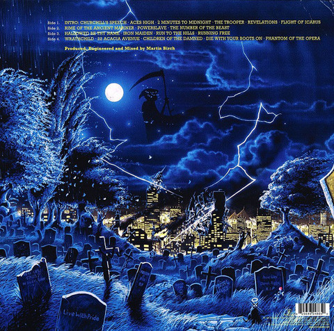 IRON MAIDEN Live After Death (Reissue, Remastered, 180 Gram) 2LP2.jpg