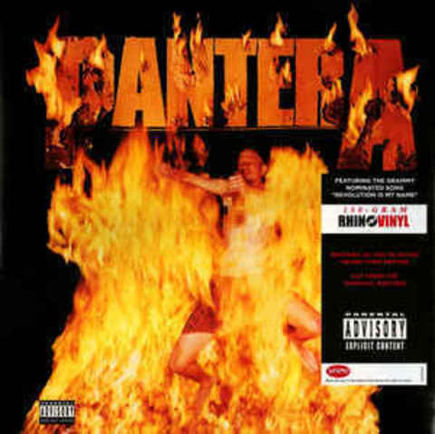 PANTERA Reinventing the Steel (Reissue, 180 Gram, Gatefold) LP.jpg