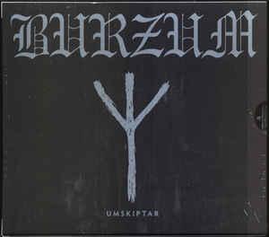 BURZUM Umskiptar (Reissue, Remastered, Slipcase) CD.jpg