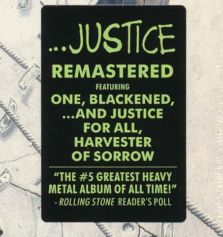 METALLICA ...And Justice For All (2018 Remastered) CD2.jpg