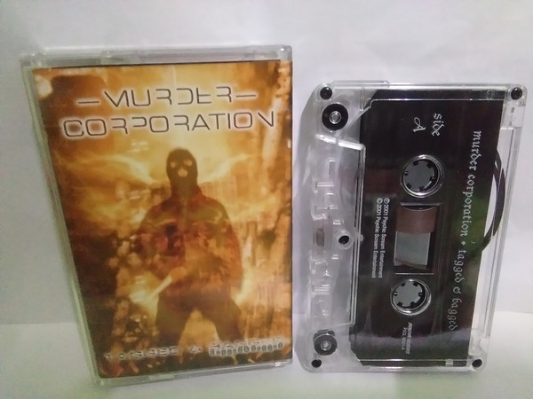MURDER CORPORATION Tagged & Bagged CASSETTE.jpg