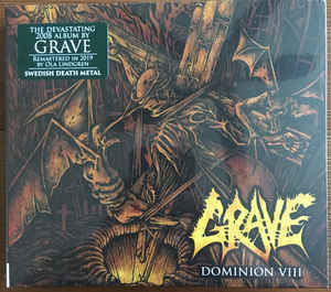 GRAVE Dominion VIII (Limited Edition, Numbered, Reissue, Remastered) CD.jpg