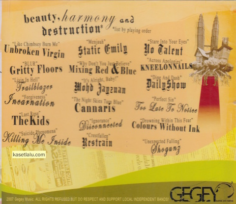 GEGEY MUSIC COMPILATION Beauty, Harmony and Destruction CD2.jpeg