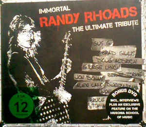 Various ‎– Immortal RANDY RHOADS - The Ultimate Tribute CD.jpg