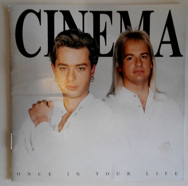 CINEMA Once In Your Life CD.jpg