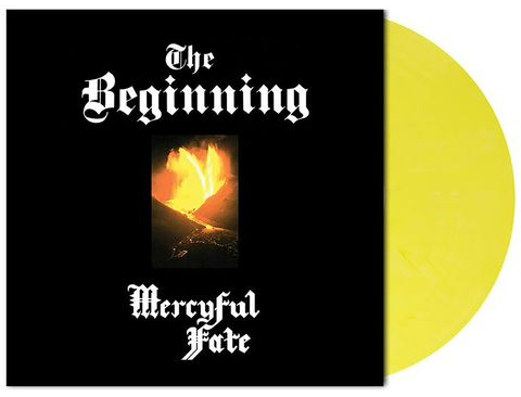 MERCYFUL FATE The Beginning (Limited Edition, Numbered, Reissue, Yellow Opaque Flame Marbled) LP.jpg