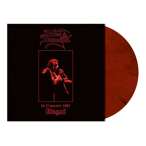 KING DIAMOND In Concert 1987 - Abigail (Limited Edition, Numbered, Reissue, Wine Red-Black Marbled) LP.jpg