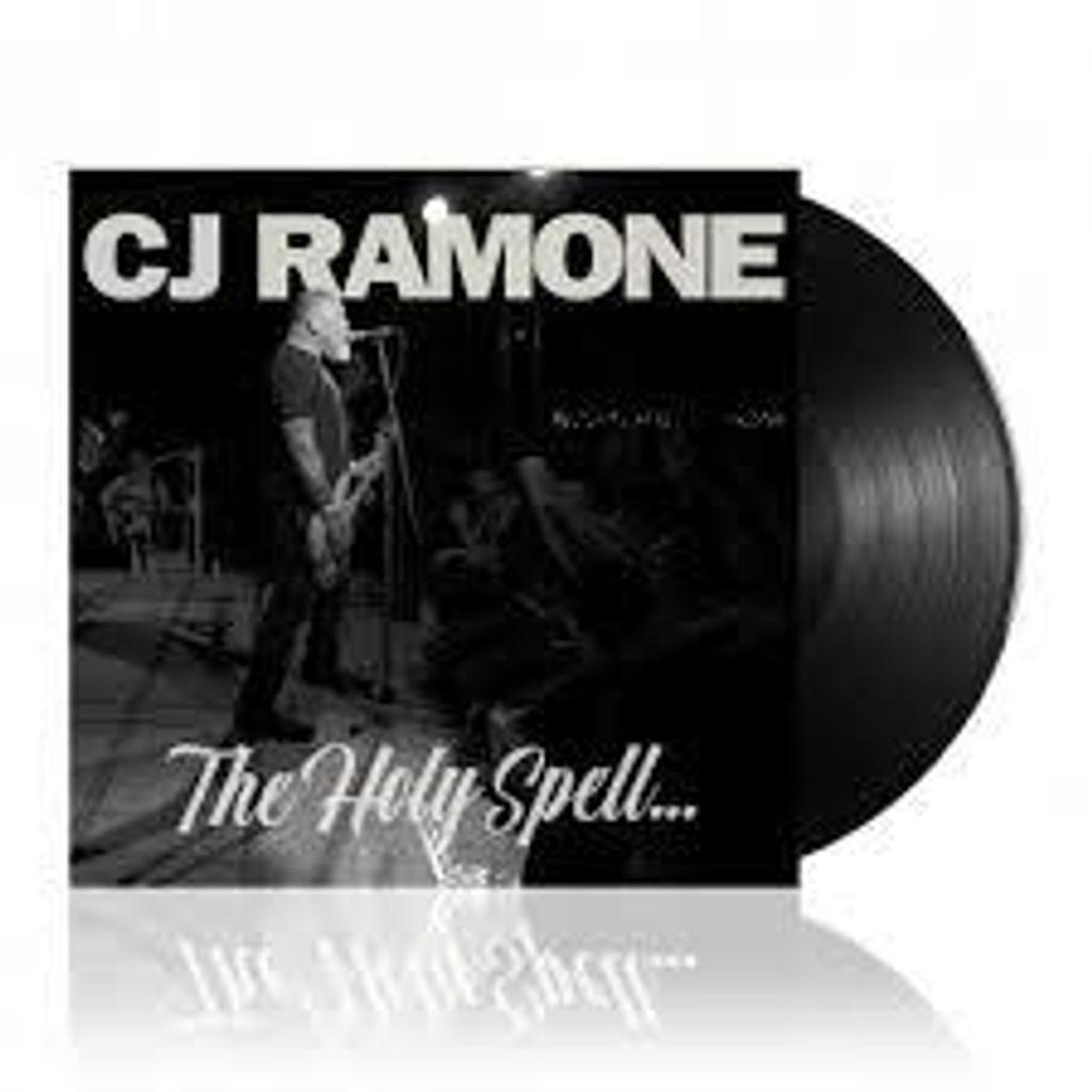 CJ RAMONE The Holy Spell... LP (RAMONES).jpg