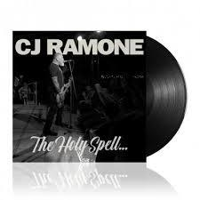 CJ RAMONE The Holy Spell... LP (RAMONES).jpg