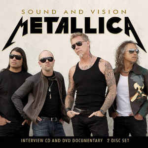 METALLICA Sound And Vision CD + DVD.jpg