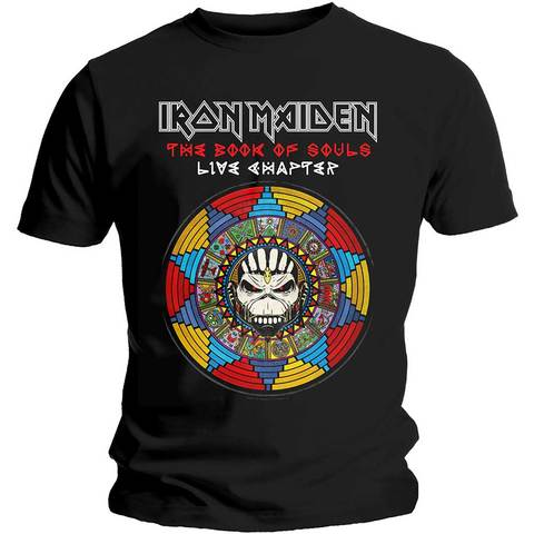 IRON MAIDEN Book of Souls Live Chapter Tshirt (Size XL).jpg