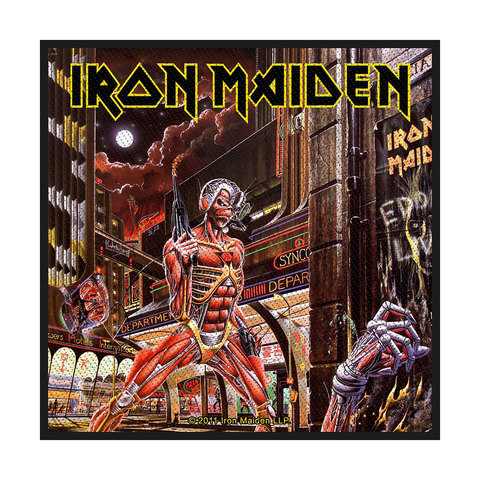 IRON MAIDEN Somewhere Back In Time Patch.jpg