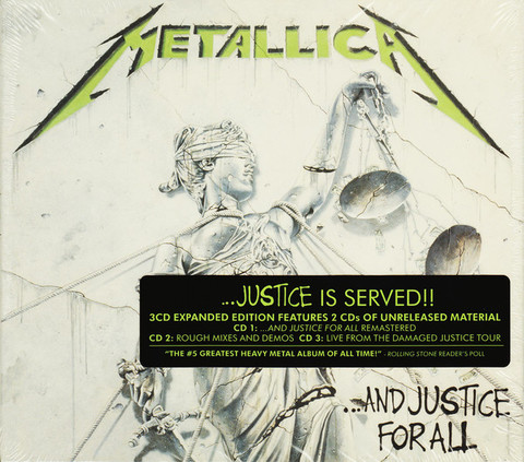METALLICA ...And Justice For All (2018 Reissue, Remastered) 3CD.jpg