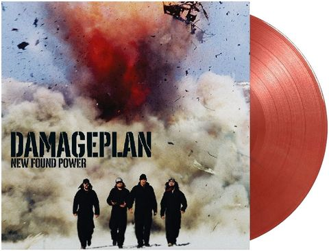 DAMAGEPLAN New Found Power (Limited Edition, Numbered, Reissue, Gold Red Merge) LP PANTERA.jpg