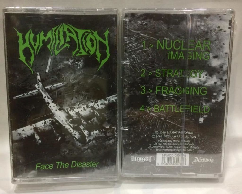 HUMILIATION Face The Disaster CASSETTE TAPE.jpg