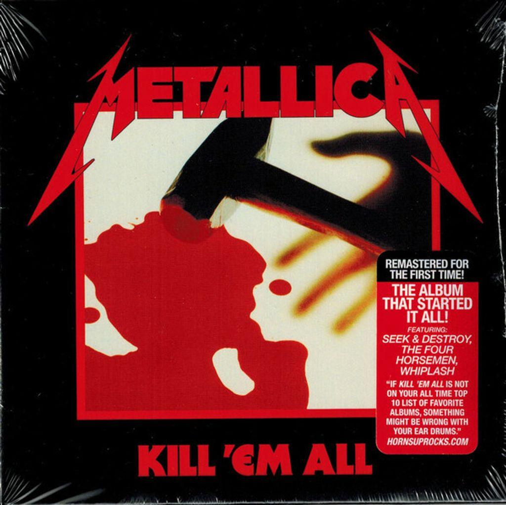 METALLICA Kill Em All (2016 Reissue, Remastered, Mini LP gatefold sleeve) CD.jpg