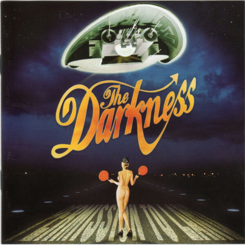 (Used) THE DARKNESS Permission To Land CD.jpg